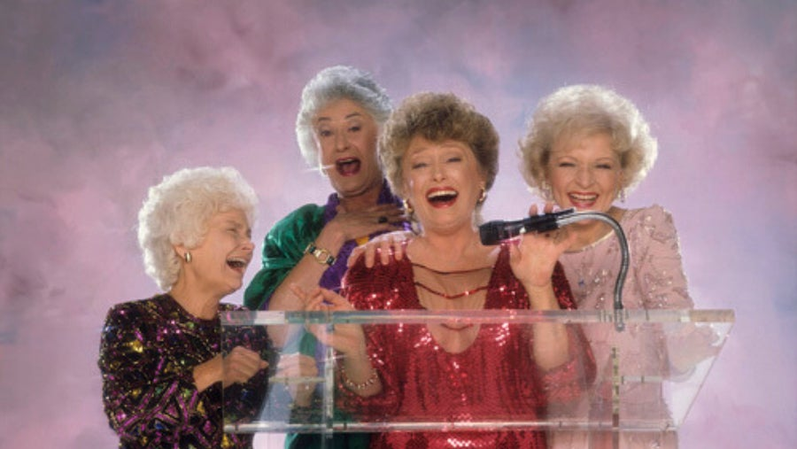 Girls At The Podium
